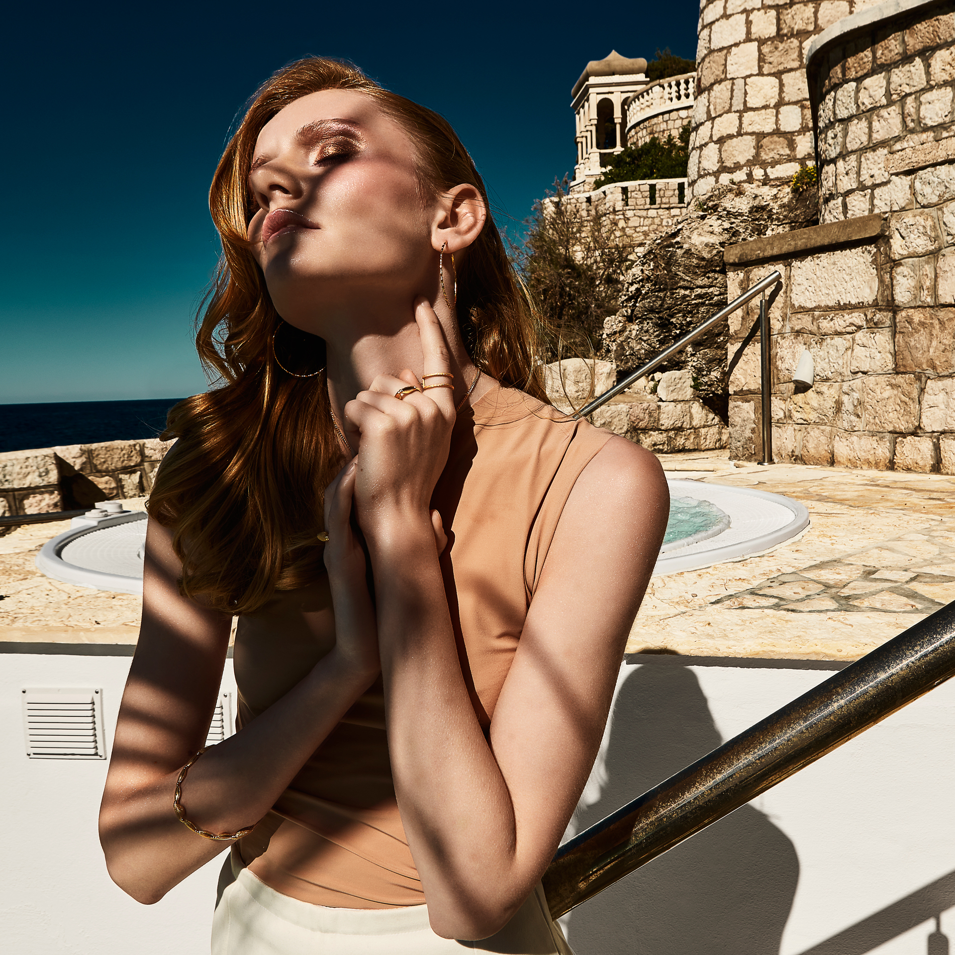 Fashion photography by David Hatters in Dubrovnik