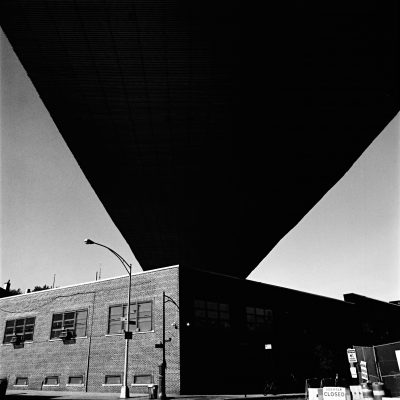 photography by David Hatters New York City, Geometries of the sky, film shot with Hasselblad