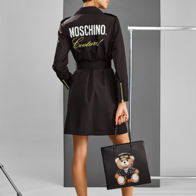 Dilone for Moschino Printemps 2018 by David Hatters